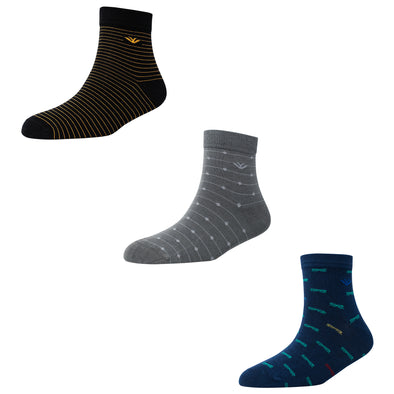 Men's AL015 Pack of 3 Ankle Socks