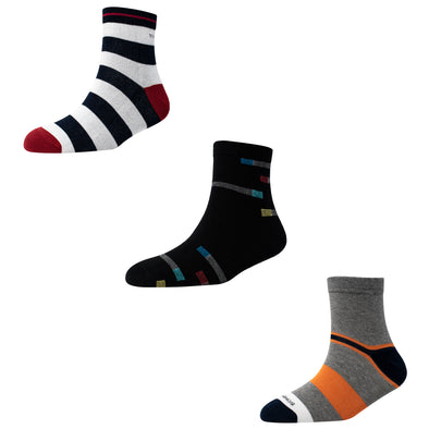 Men's AL017 Pack of 3 Ankle Socks