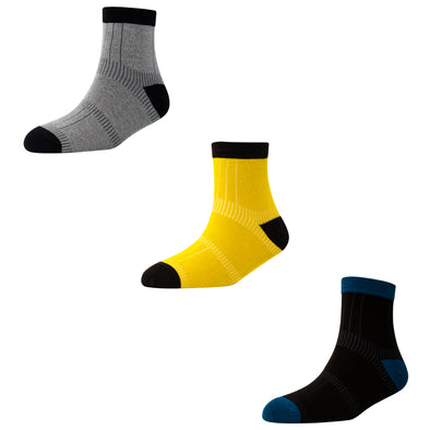 Men's AL014 Pack of 3 Ankle Socks