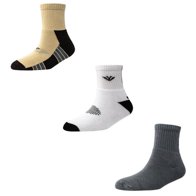 Men's TS09 Pack of 3 Terry Sports Ankle Socks