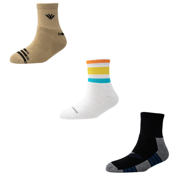Men's TS06 Pack of 3 Terry Sports Ankle Socks