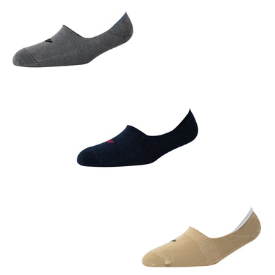 Men's NS010 Pack of 3 Invisible/No Show Socks