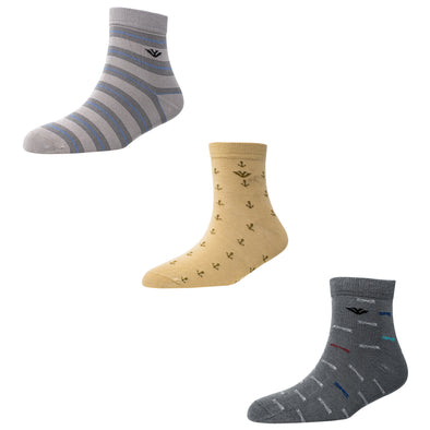 Men's AL023 Pack of 3 Ankle Socks