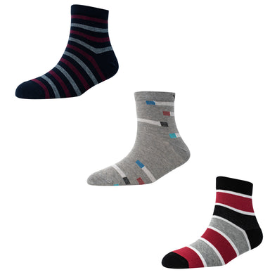 Men's AL022 Pack of 3 Ankle Socks