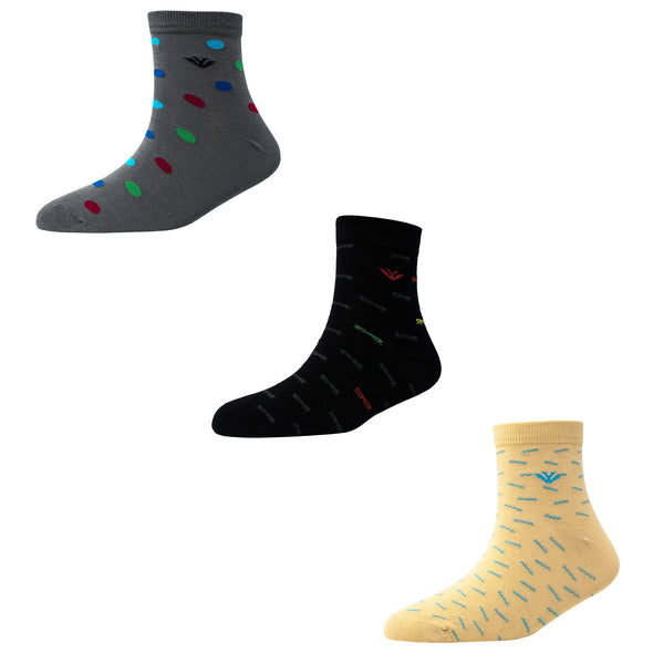 Men's AL025 Pack of 3 Ankle Socks