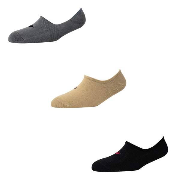 Men's NS011 Pack of 3 Invisible/No Show Socks