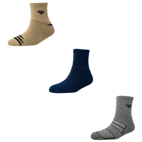 Men's TS08 Pack of 3 Terry Sports Ankle Socks