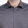 Men's PIMA Mercerised Tiny Check Jacquard Design Dress Shirt