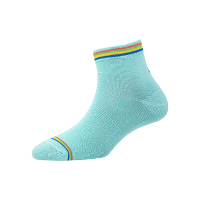 Women's YW-W1-4009 Ankle Welt Stripe Socks