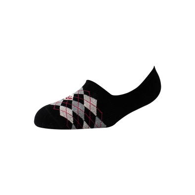 Men's YW-M1-104 Argyle Invisible/No Show Socks