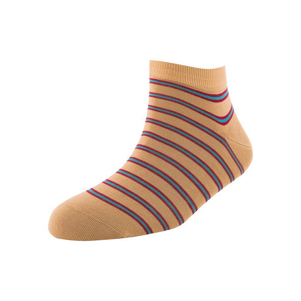 Men's Three Stripe Ankle Socks