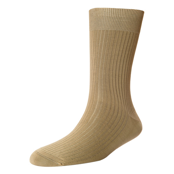 Men's Super Fine 4x1 RIB Mid Socks