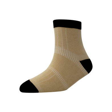 Men's YW-M1-244 Heal & Toe Misloop Ankle Socks