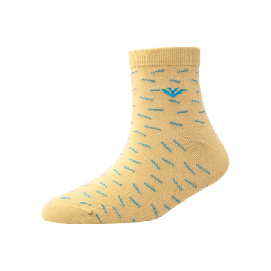 Men's YW-M1-267 Zig Zag Ankle Socks