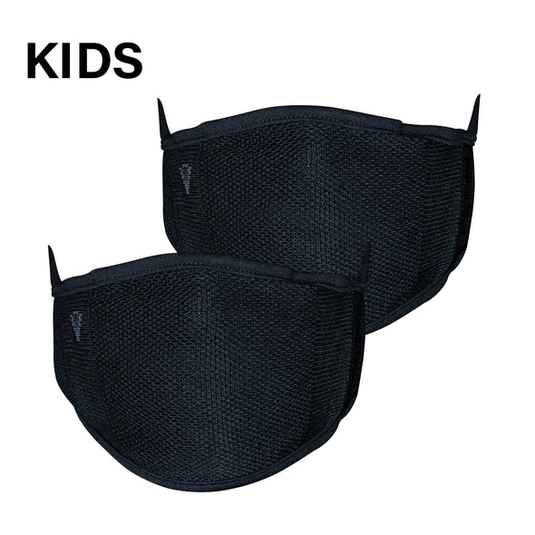 2-Layer Anti-Bacterial Protection Mask for Kids, Size- Small (3-7 Yrs) - Pack of 2