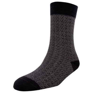 Men's Merino Wool Abstract Fashion Socks