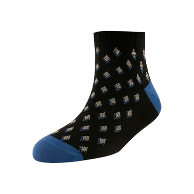 Men's Fashion Diamond Blocks Ankle Socks