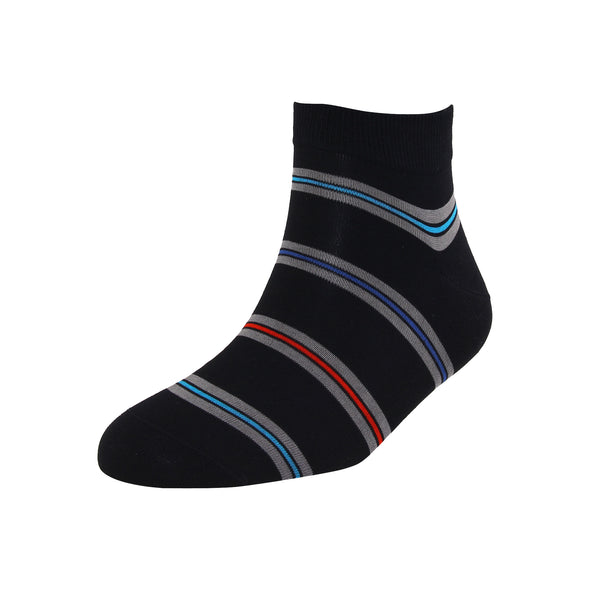 Men's Multicolor Stripe Ankle Socks