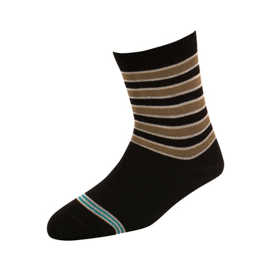 Kids Solid Stripe Socks