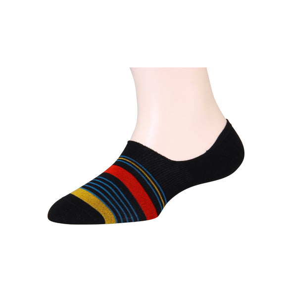 Men's Invisible Two Big Stripe Socks