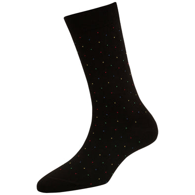 Women's Fashion Multicolor Dots Socks