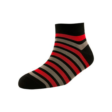 Men's Two Stripe Ankle Socks
