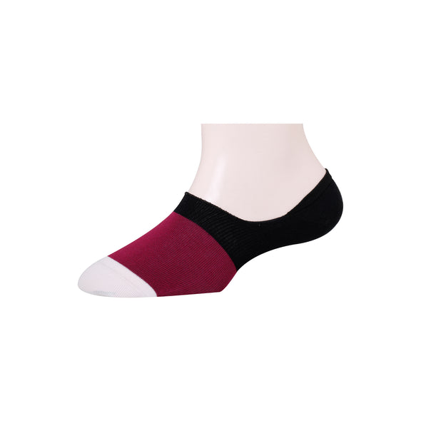 Men's Invisible Color Block Socks