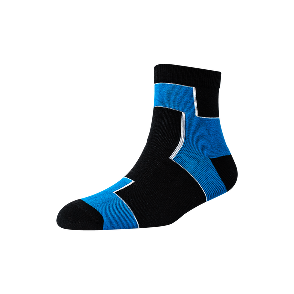 Men's YW-M1-248 Two Block Ankle Socks