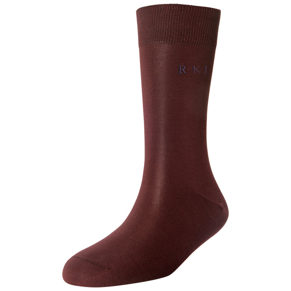 Men's Fine Monogram Socks
