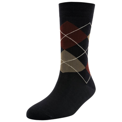 Men's Fashion Argyle Socks