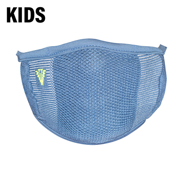 2-Layer Anti-Bacterial Protection Mask for Kids, Fashion Coloured -Size - Medium (8-12 Yrs) - Pack of 1