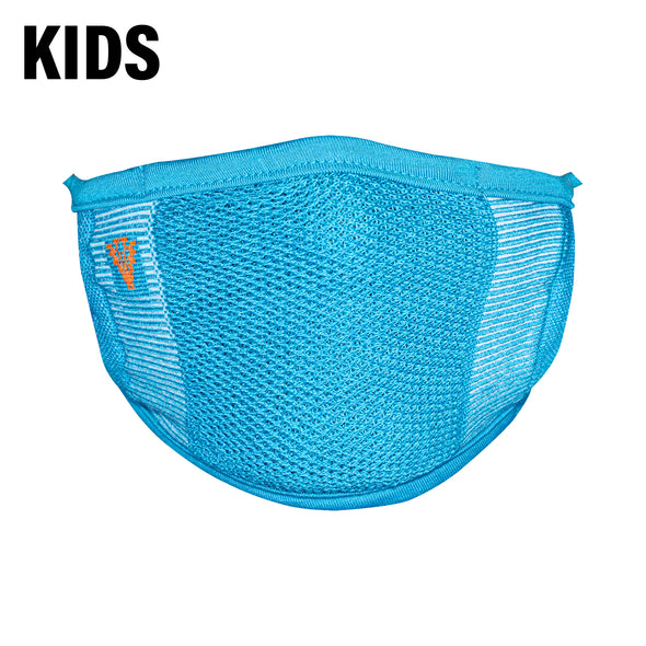 2-Layer Anti-Bacterial Protection Mask for Kids, Fashion Coloured -Size - Small (3-7 Yrs) - Pack of 1