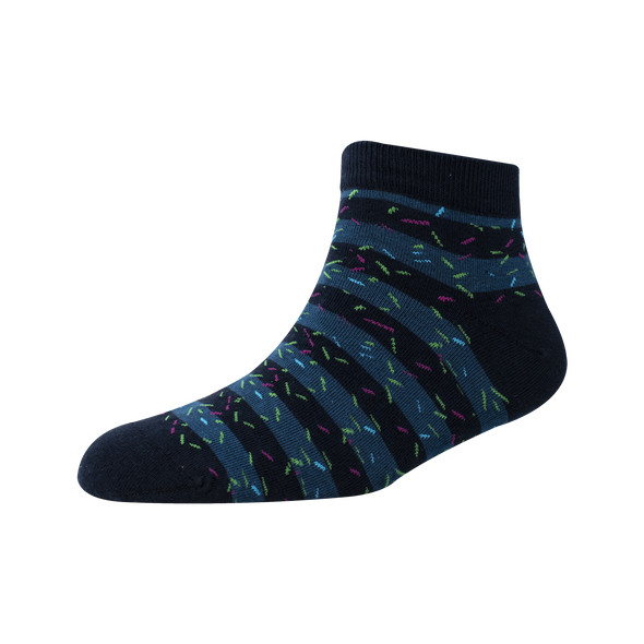 Men's YW-M1-234 Fashion Stripe Ankle Socks