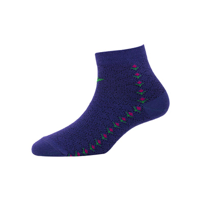 Women's YW-W1-4006 Ankle Flower Socks