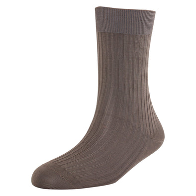 Men's Super Fine 5x3 Rib Socks