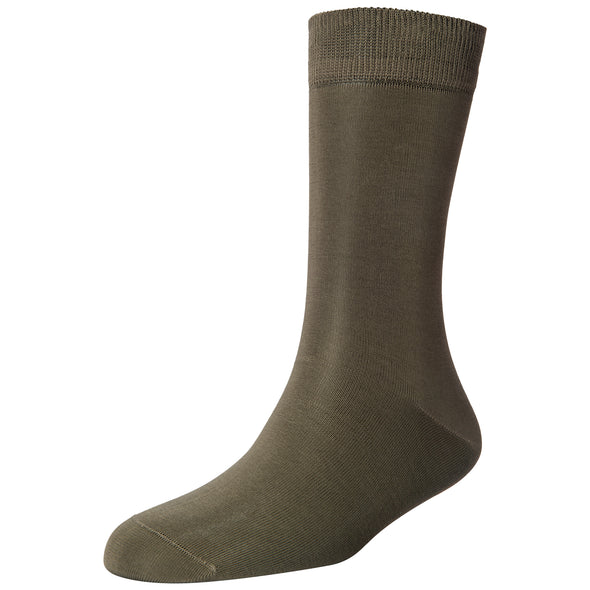 Men's Fine Loose Welt Socks