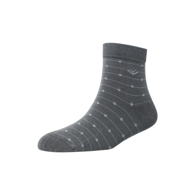 Men's YW-M1-265 Diamond Thread Ankle Socks