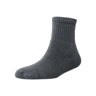 Men's YW-M1-255 Terry Solid Sports Ankle Socks
