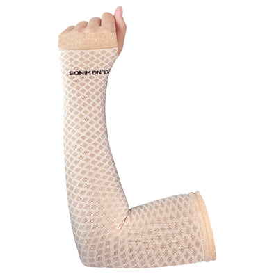 Antibacterial Diamond Fashion Pattern Arm Protectors for Women (UPF 50+)