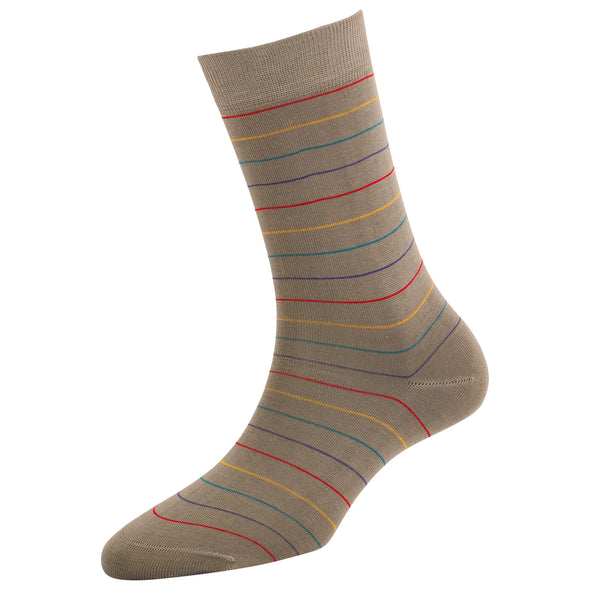 Women's Thin Stripe Socks