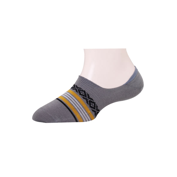 Men's Invisible Jacquard Stripe Socks