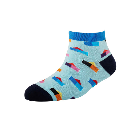 Men's YW-M1-232 Fashion House Ankle Socks