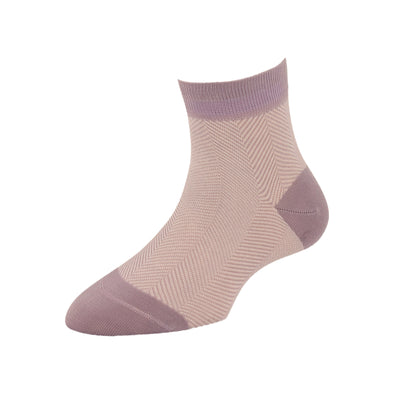 Women's Fashion Herringbone Ankle Socks