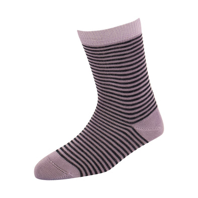 Kids Lavender Stripe Socks