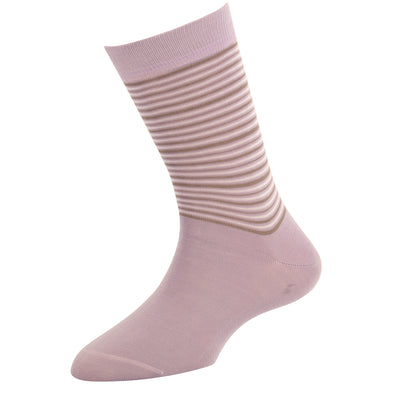 Women's Solid Stripe Socks