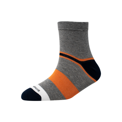 Men's YW-M1-242 Heal & Toe Block Ankle Socks