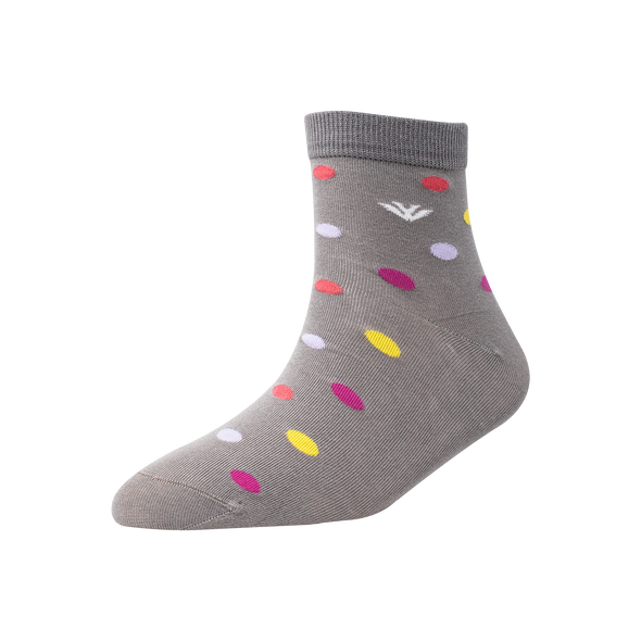 Men's YW-M1-271 Multi Colour Circle Ankle Socks