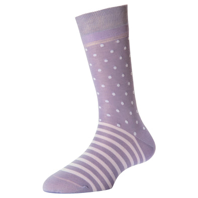 Women's Fashion Stripe Dots Socks