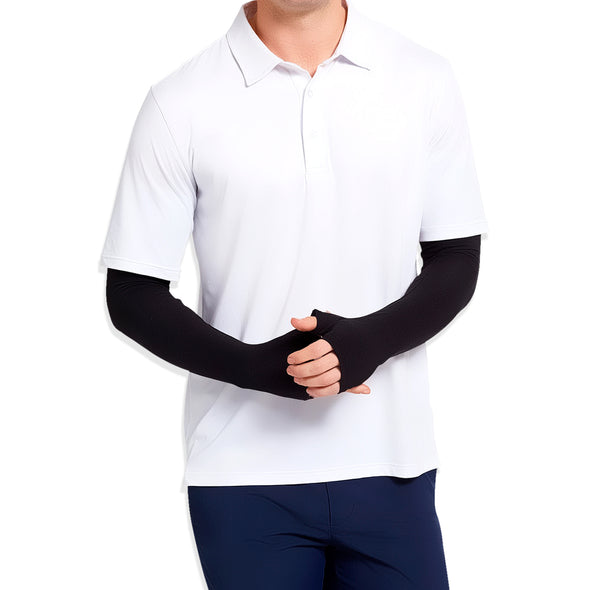 Antibacterial Arm Protectors for Men (UPF 50+)