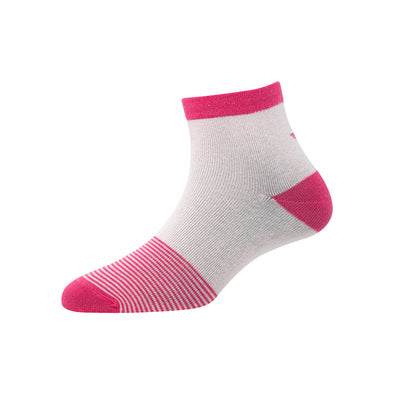 Women's YW-W1-4004 Ankle Foot Stripe Socks